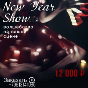 световое шоу на новый год ростов